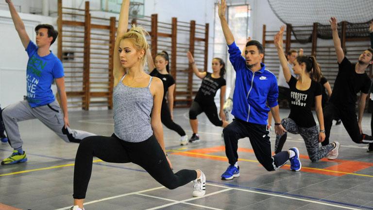 Antrenamente Departamentul de Educaţie Fizică şi Sport